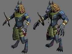 Smite Anubis concepts