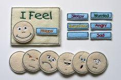 Felt Emotions Chart by BlueUmbrellaDesigns on Etsy, $13.00