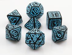 Pathfinder Dice: Iron Gods | RPG Role Playing Game Dice Set