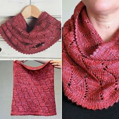 Ravelry: Pashmina cowl pattern by Black Crow Knits free pattern
