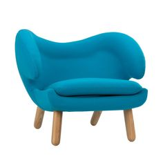 Winged Lounge Chair