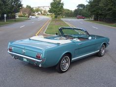 Ford Mustang Convertible find more great old cars at www.oldcarshopper.com