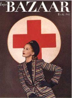 print Lisa Fonssagrives, Harpers Bazaar Cover, March print Lisa Fonssagrives, Harpers Bazaar Cover, March The Red Cross Nurse Trying to Help the Injured Man Eat and Drink Premium Photographic Print by Allan Grant at red & black pictures of new york Alexey Brodovitch, Herz Tattoo, Magazine Art, Magazine Covers, Diana Vreeland, Rosie The Riveter, American Red Cross, Richard Avedon, Vogue Covers