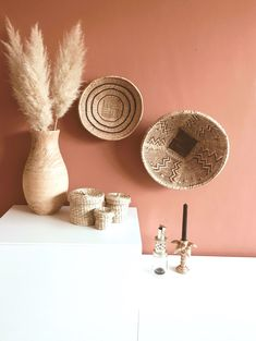 wall color terracotta typical Life By Iv Interior Inspiration, Room Inspiration, Home Bedroom, Bedroom Decor, Bedroom Wall, Interior Styling, Interior Design, Terracota, New Room
