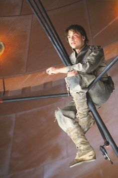Luke Skywalker movie moment BTS Star Wars Empire Strikes Back. City in the Clouds. Find