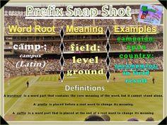 camp- Prefix Snap Shot