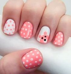 Top 10 Ridiculously Easy Nail Art Designs using only polka dots.DIY your own nail art dotting tool.nail art designs for beginners. Dot Nail Designs, Simple Nail Art Designs, Best Nail Art Designs, Nails Design, Dot Nail Art, Polka Dot Nails, Fall Nail Art, Polka Dots, Nail Art For Kids