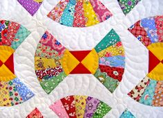 Bow-tie quilt on Allsorts