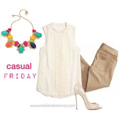 """Casual Friday Look"" by marenas on Polyvore"