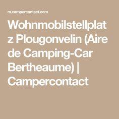 Wohnmobilstellplatz Plougonvelin (Aire de Camping-Car  Bertheaume) | Campercontact
