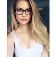 I like the glasses - the photo probably could be slightly more close up on the face though!