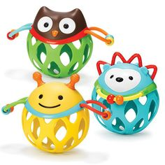 #CottonBabies Skip Hop Roll Around Rattles (Pick 2) - Baby Toys - Cotton Babies Cloth Diaper Store