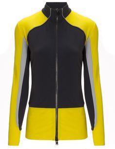 Yellow Velocity Jacket | Charli Cohen | Avenue32.com