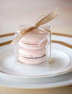 100-Clear-Macaron-Square-Boxes-5cm-Bomboniere-Wedding-Favour-Favor-Plastic