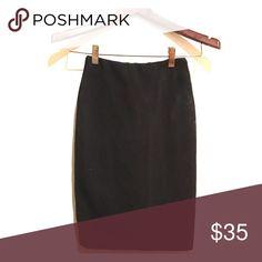 "Zara High Waisted Skirt Black XS high waisted Zara skirt in great condition! Waist measures 12"". Zara Skirts Pencil"