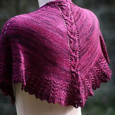 NobleKnits.com - Designs by Romi Erato Lace Shawl Knitting Pattern, $8.95 (http://www.nobleknits.com/designs-by-romi-erato-lace-shawl-knitting-pattern/)