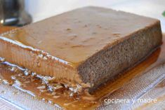 Flan de café muy fácil - Cocinera y Madre Happy Coffee, Cupcake Wars, Pastry And Bakery, Coffee Cafe, Sweet Cakes, Coffee Recipes, Sin Gluten, No Bake Desserts, Deserts