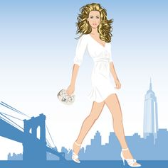 This was a piece inspired by #sarahjessicaparker and NYC by #grantyoung