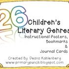 This 84 page packet contains teaching resources for 26 literacy genres in both fiction and non-fiction found in children's literature!  For each ge...