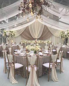 Elegant Wedding, Perfect Wedding, Dream Wedding, Trendy Wedding, Elegant Chic, Nautical Wedding, Wedding Ceremony, Wedding Venues, Gown Wedding