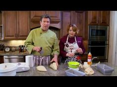 Honeyville Whole Grain Bread with Chef Brad & Chef Tess  -  Chef Brad shares his favorite fast bread dough recipe in the Honeyville kitchen. Enjoy!!