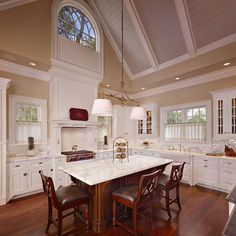 Vaulted kitchen ceiling with transom window above sink kitchen kitchen photos vaulted ceilings design pictures remodel decor and ideas mozeypictures Gallery