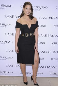 Passion for fashion: Ashley Graham attended the Christian Siriano x Lane…