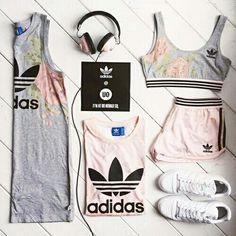 Imagem de adidas, outfit, and sport