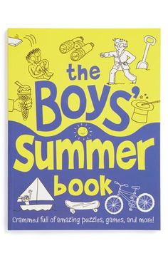 The Boys' Summer Book http://rstyle.me/n/jk8s9nyg6