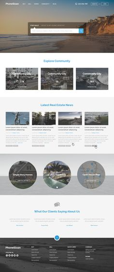 Design the best, user friendly, responsive real estate website in the world! by SnareDrum