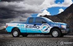 Award-winning vehicle advertising and fleet design - HVACR Magazine Tops in Trucks Winner