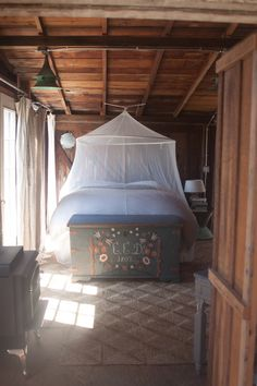 Bedroom in the shack