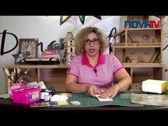 Dona Arteira com Você - 14 - Caixa de Chá com Decoupage e Craquelê - YouTube