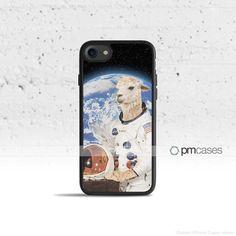 Funny Astronaut Llama Case Cover for Apple iPhone 7 6s 6 SE 5s 5 5c 4s 4 Plus