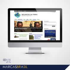 Site – Jornal Recantos da Terra > Desenvolvimento de site para o Jornal Recantos da Terra < #site #marcasbrasil #agenciamkt #publicidadeameriana