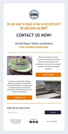 Do you want to repair or buy an aircraft part? Do you have an AOG? Aircraft Structure, Aircraft Parts, Ads, Stuff To Buy
