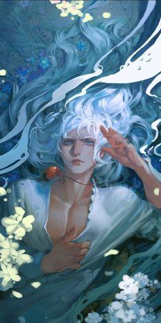 Hunsay -- Berserk Griffith fan art (colored version!)