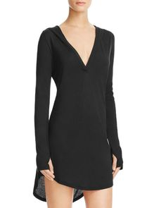 Yummie by Heather Thomson Hooded Cover-Up Tunic