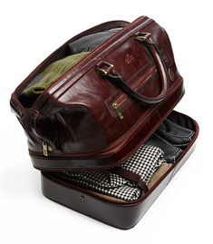 The Indiana Leather Adventure Duffel $345.50.... ummm I need this in my life
