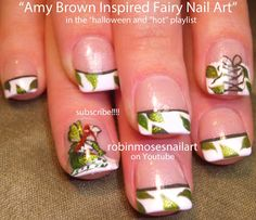 Nail-art by Robin Moses - Amy Brown Inspired Fairies!