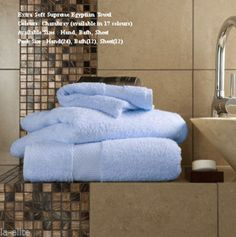 Miami Egyptian Chambray Hand Towel Bath Towel &Bath Sheets – Linen and Bedding
