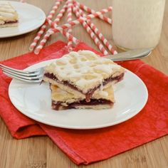 Sweet Cherry Slab Pie {Sweet Pea's Kitchen}