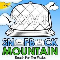 Digital image created for Snapback Mountain