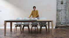Mason PB2 Ceramic/Fenix extending dining table