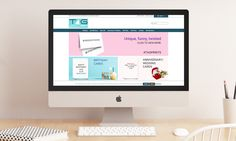 TAG Prints greeting cards website is a bold, quirky, user-friendly ecommerce site. Website Web, Custom Website, Business Contact, Color Splash, Ecommerce, Wedding Cards, Custom Design, Wordpress