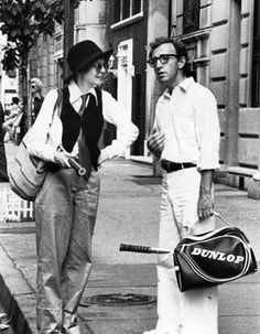 Diane Keaton & Woody Allen - Annie Hall days