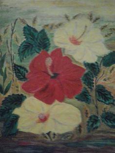 Lukisan Mawar