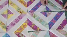 Watch How She Makes This Easy Quilt Using Jelly Rolls (Great For Beginners!) | DIY Joy Projects and Crafts Ideas