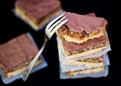Caramel Nut Crunch Bars
