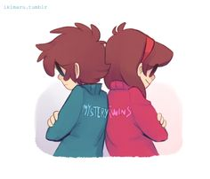 Dipper and Mabel Pines Mystery Twins Gravity Falls